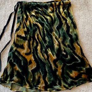 🐲Voyage For Neiman Marcus Velvet Skirt - EUC🐲